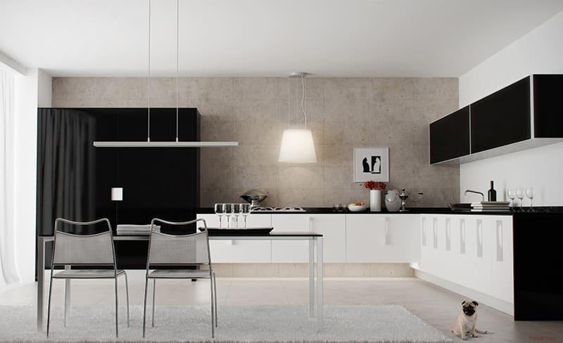 3D_моделирование_кухни