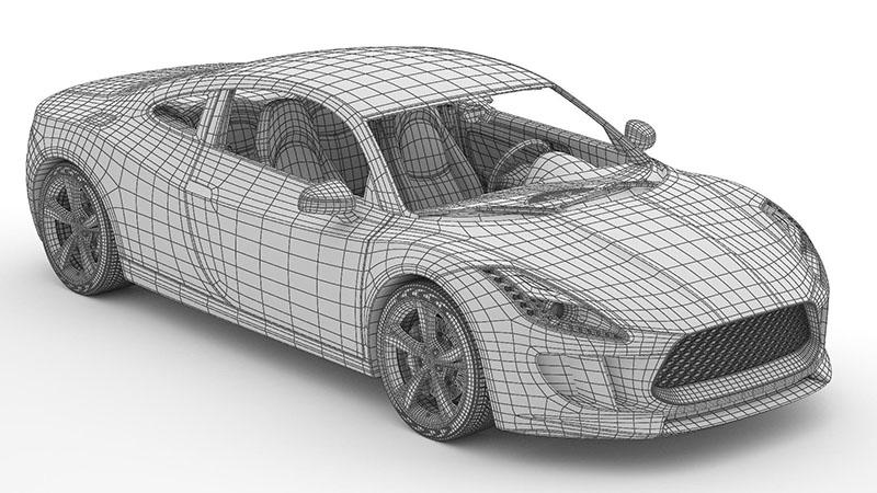3D_модель_авто